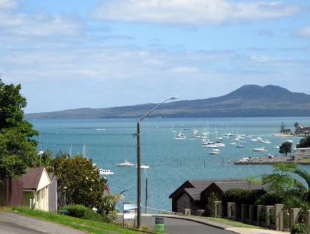 Rangitoto Island in the Background